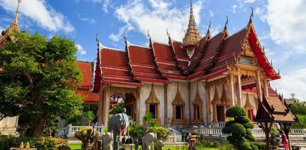 Đền Wat Chalong - Địa điểm tham quan hấp dẫn tại Phuket