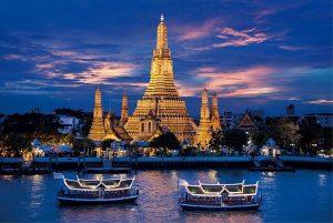 Du lịch Bangkok nên ở đâu: Ở khu bờ sông Bangkok thưởng thức phong cảnh tuyệt đẹp