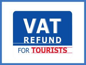Hoàn thuế khi mua sắm ở Thái Lan khi mua hàng ở những nơi có biểu tưởng VAT Refund For Tourists