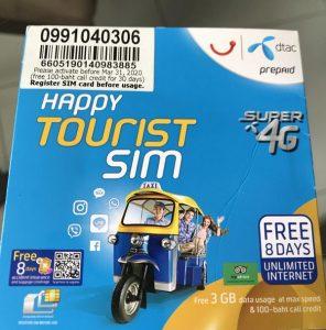 Hướng dẫn cách mua sim 4G Thái Lan chi tiết: Mua sim 4G Thái Lan ở đâu?