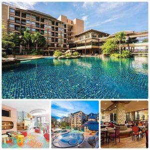 Khách sạn gần biển, giá tốt ở Phuket: Khách sạn Novotel Phuket Vintage Park Resort là khách sạn có vị trí đẹp nhất bãi biển Patong, Phuket