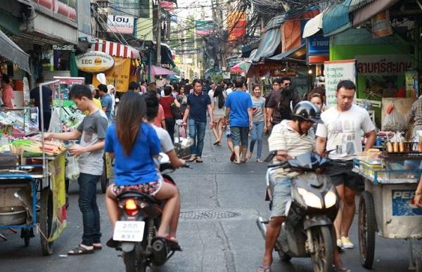Khu ẩm thực đường phố Bangkok sôi động nhất
