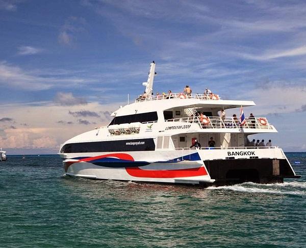 Hướng dẫn du lịch Koh Samui tự túc. Phương tiện tới đảo Koh Samui