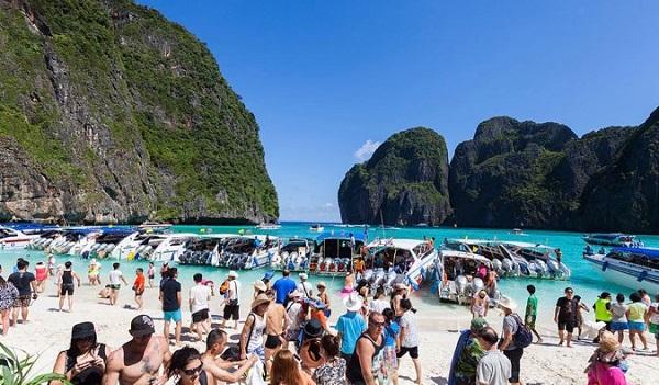 Kinh nghiệm du lịch Krabi tự túc mới nhất? Ở Krabi bãi tắm sạch nhất ở đâu? Koh Phi Phi