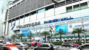 Platinum, một trong những khu mua sắm lớn nhất khu Pratunam