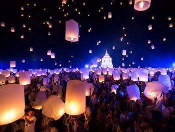 Lễ hội thả đèn trười ở Chiang Mai ngày nào, ở đâu? Thời gian, địa điểm diễn ra lễ hội thả đèn trời Yi Peng, Chaing Mai
