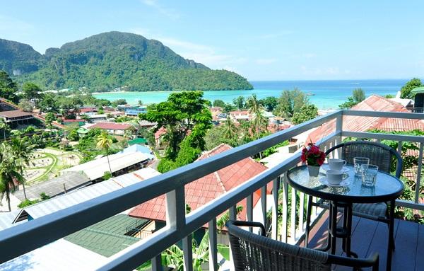 Papaya Phi Phi - nhà nghỉ, khách sạn giá tầm trung ở Koh Phi Phi view đẹp nhất