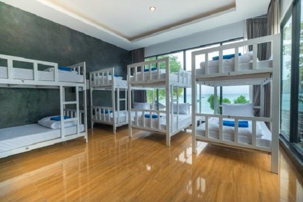 Nhà nghỉ, khách sạn ở Koh Phi Phi có phòng dorm đẹp
