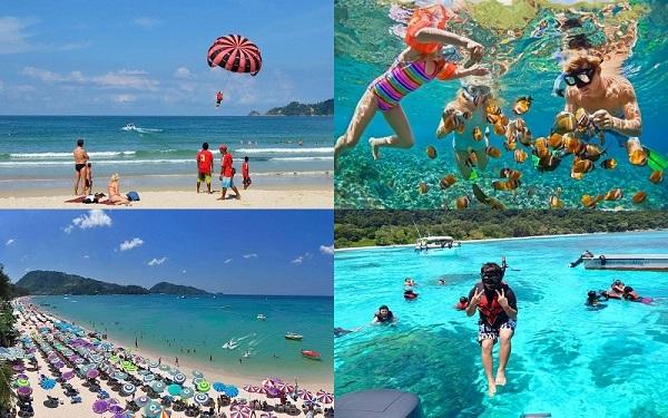 Bãi biển Patong là địa điểm tham quan hấp dẫn nhất tại Phuket