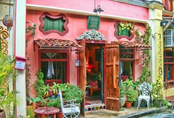 Đô thị cổ ở Phuket - Địa điểm tham quan nổi tiếng tại Phuket