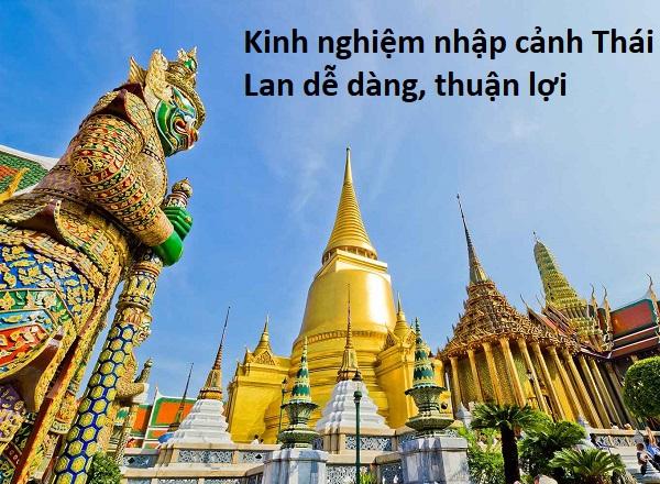 Thủ tục nhập cảnh Thái Lan chi tiết. Nhập cảnh Thái Lan như thế nào?