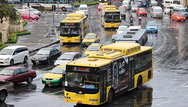 Cách đi từ sân bay Don Muang về Bangkok bằng xe buýt bình dân