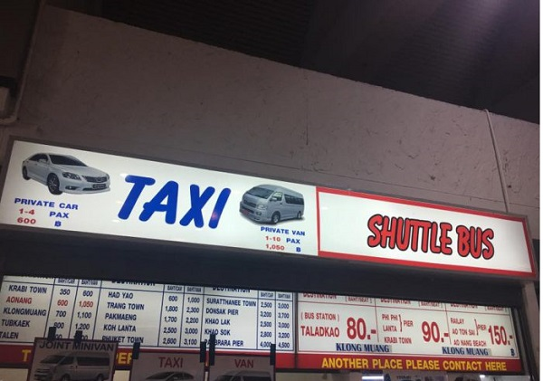 Kinh nghiệm du lịch Krabi tự túc mới nhất. Đi taxi đến Krabi như thế nào để tiết kiệm chi phí?