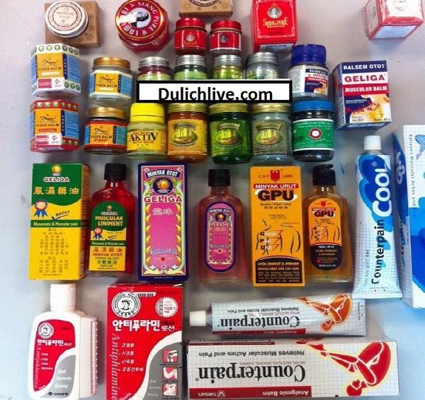 Du lịch Phuket nên mua gì làm quà? Các loại dầu của Phuket, Thái Lan