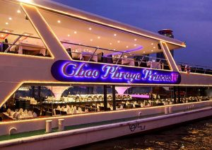 Ăn tối trên du thuyền Chao Phraya Princess