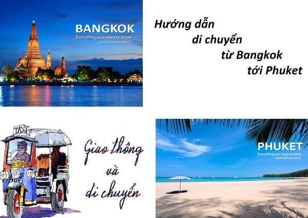 Từ Bangkok đi Phuket bằng cách nào?