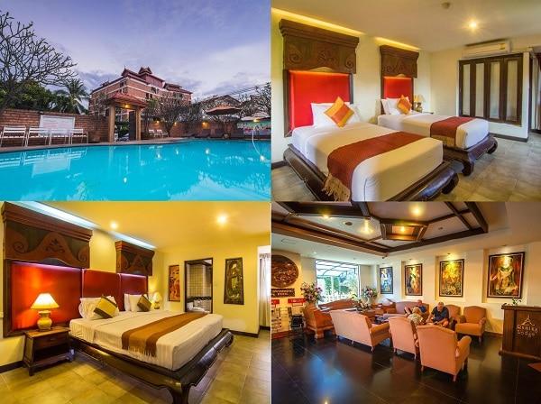 Du lịch Chiang Mai nên ở khách sạn nào? Khách sạn bình dân ở Chiang Mai có vị trí đẹp, tiện nghi đầy đủ. Raming Lodge Hotel
