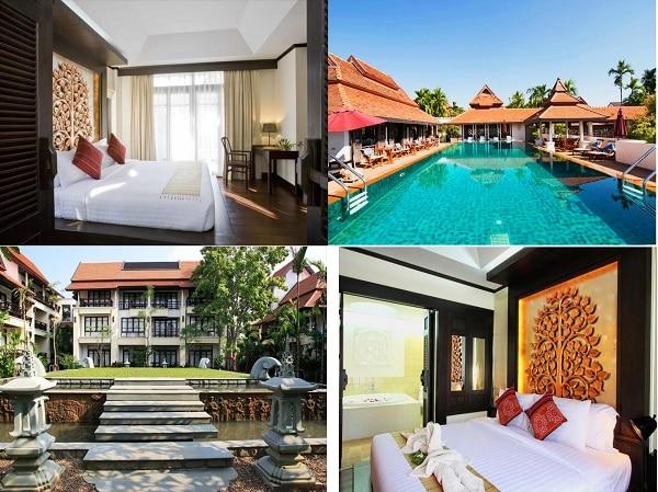 Du lịch Chiang Mai nên ở khách sạn nào gần điểm tham quan? Khách sạn đẹp, tốt nhất ở Chiang Mai. Bodhi Serene Hotel Chiang Mai