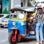 Mẹo cần biết khi du lịch Thái Lan - Không nên lựa chọn xe tuk tuk di chuyển đoạn đường dài