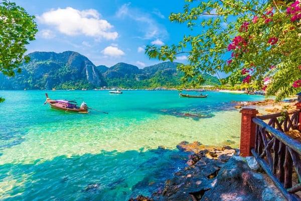 Ko Sai, một trong những hòn đảo đẹp ở Thái Lan