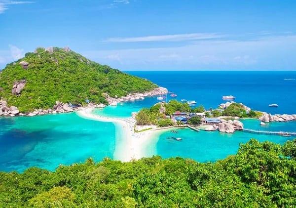 Top những hòn đảo đẹp ở Thái Lan: đảo Koh Tao (đảo rùa)