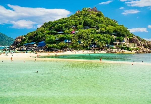 Koh Nang Yuan, hòn đảo đẹp ở Thái Lan gần Koh Samui