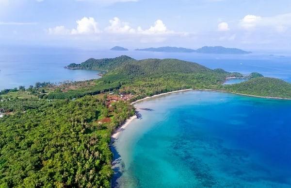 Hòn đảo đẹp ở Thái Lan: Koh Mak, một hòn đảo ở phía đông vịnh Thái Lan