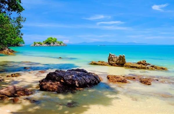Koh Phayam, một trong những hòn đảo đẹp ở Thái Lan
