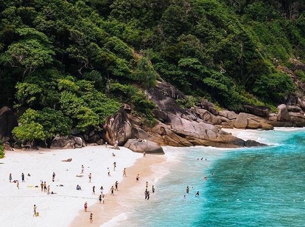 Koh Similan, quần đảo đẹp và nổi tiếng ở Thái Lan