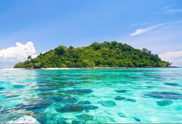 Đảo Koh He, hòn đảo đẹp ở Phuket, Thái Lan