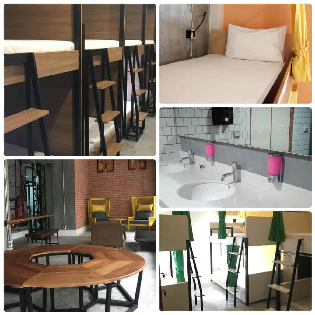 Du lịch Bangkok nên ở nhà nghỉ giá rẻ nào? Bed@Town Hostel