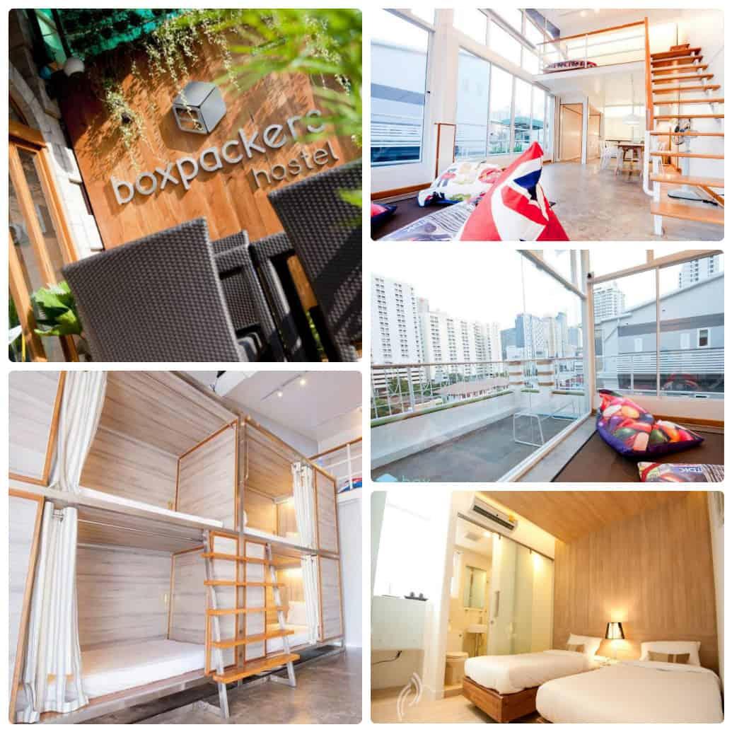Boxpacker Hostel - nhà nghỉ giá rẻ ở Bangkok gần Pantip Plaza