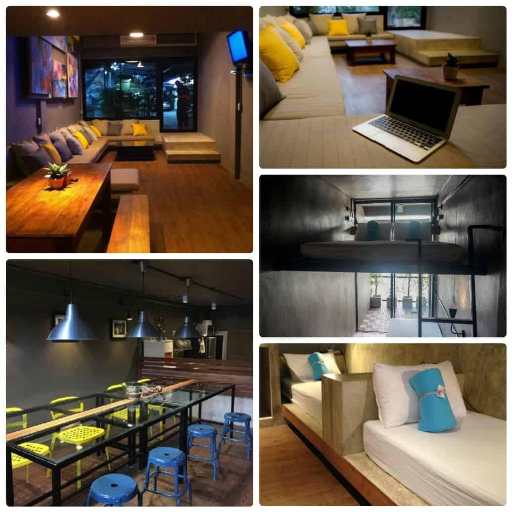In a Box Hostel nhà nghỉ hostel giá rẻ ở Bangkok nên ở