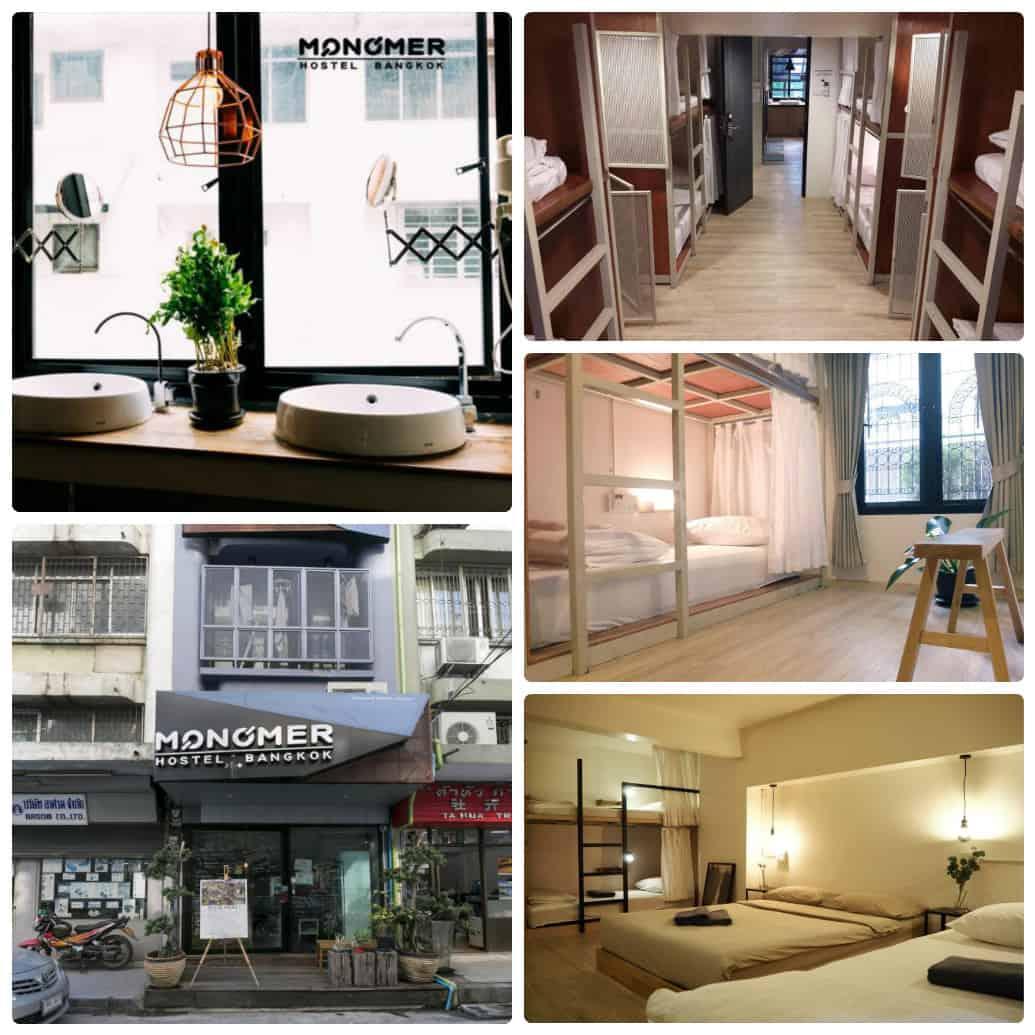 Toàn cảnh Monomer Hostel hostel giá rẻ ở Bangkok