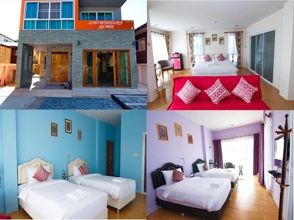 Nên ở khách sạn nào Chiang Mai? Khách sạn bình dân ở Chiang Mai gần phố cổ, tiện nghi, sạch sẽ. Chowdhury Home