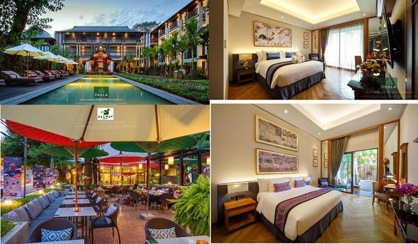 Khách sạn cao cấp tốt nhất Chiang Mai tiện nghi, chất lượng. Khách sạn 5 sao đẹp nhất Chiang Mai. Chala Number 6
