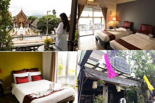 Khách sạn đẹp, giá bình dân ở Chiang. Nên ở khách sạn nào Chiang Mai? Mai Pat's Klangviang