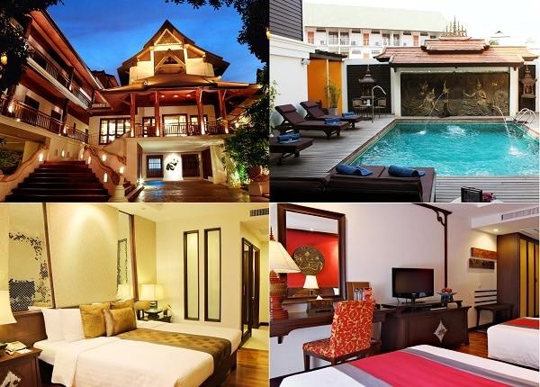 Khách sạn đẹp, tốt nhất Chiang Mai có vị trí đẹp, tiện nghi đầy đủ. Nên ở khách sạn nào Chiang Mai? De Naga Hotel Chiang Mai