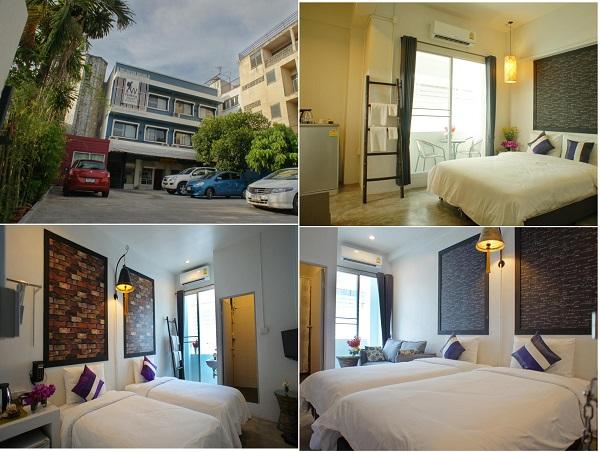 Khách sạn giá rẻ ở phố cổ Chiang Mai tiện nghi, sạch sẽ. Nên ở khách sạn nào Chiang Mai? Walking Street Residence