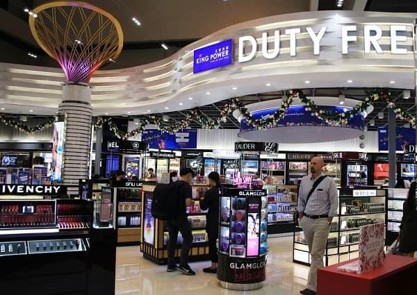 King Power Duty Free ở Thái Lan là nơi mua sắm ưa thích của nhiều du khách