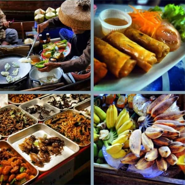 Kinh nghiệm ăn uống ở Bangkok, kinh nghiệm ăn thức ăn đường phố