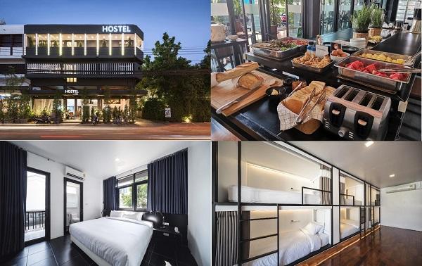 Kinh nghiệm đặt phòng khách sạn ở Chiang Mai giá rẻ, nên ở khách sạn nào Chiang Mai đẹp, vị trí thuận tiện? Hostel By Bed