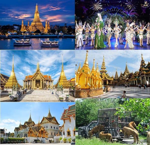 Kinh nghiệm du lịch Thái Lan giá rẻ: Du lịch Thái Lan nên đi dâu chơi? Bangkok