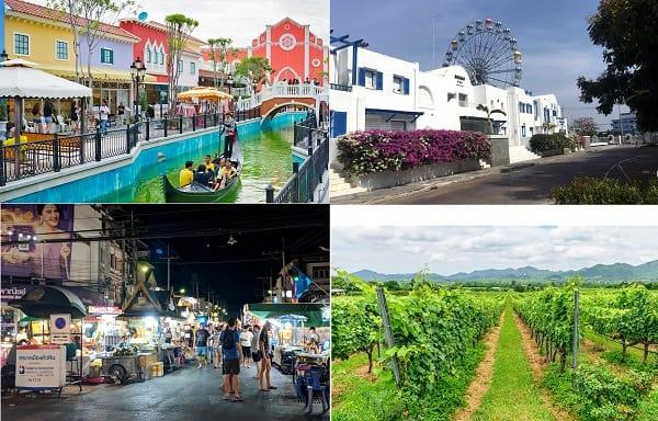 Kinh nghiệm du lịch Thái Lan giá rẻ: Địa điểm du lịch ở Thái Lan đẹp nhất. Hua Hin