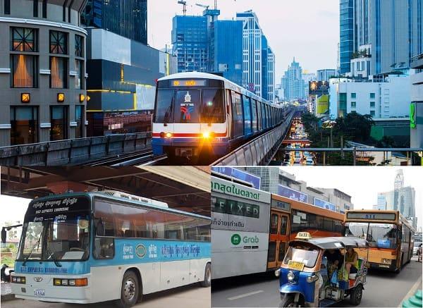 Kinh nghiệm du lịch Thái Lan: Các loại phương tiện di chuyển ở Thái Lan