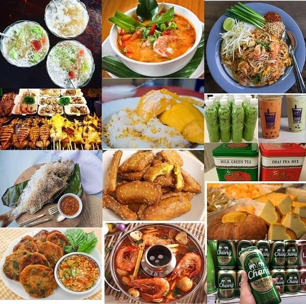 Kinh nghiệm du lịch Thái Lan: Món ăn đặc sản nổi tiếng ở Thái Lan. Du lịch Thái Lan ăn gì?