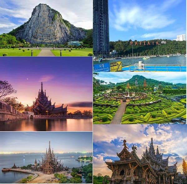 Kinh nghiệm du lịch Thái Lan tự túc, chi tiết: Địa điểm du lịch nổi tiếng ở Thái Lan Pattaya
