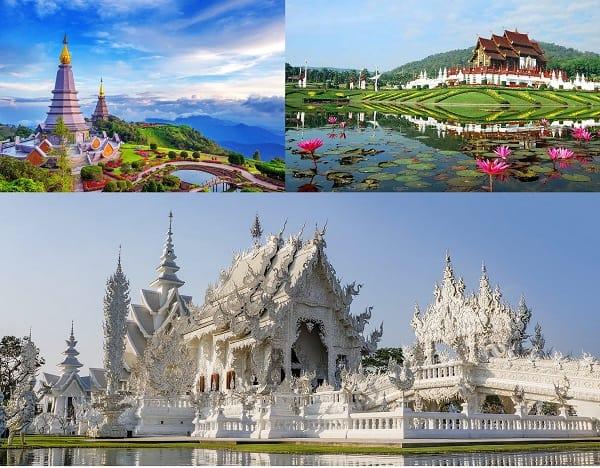Kinh nghiệm du lịch Thái Lan tự túc: Địa điểm du lịch nổi tiếng ở Thái Lan. Chiang Mai