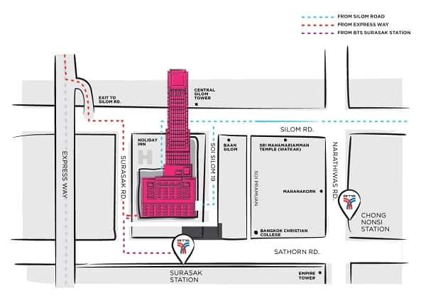 Kinh nghiệm mua sắm ở Bangkok Fashion Outlet, bản đồ đi đến Bangkok Fashion Outlet