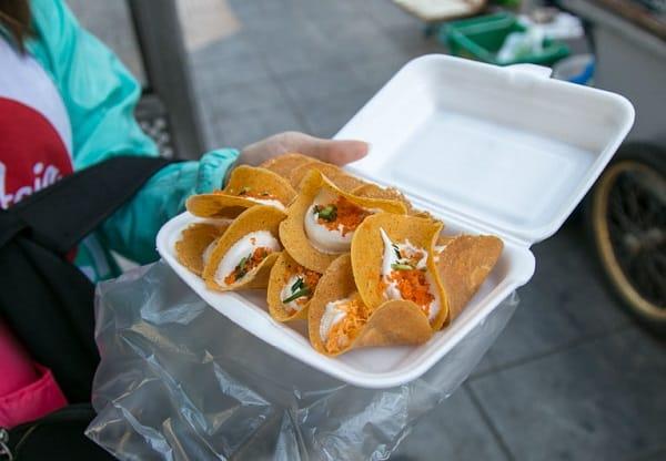 Bánh Crepe giòn, món ăn vặt ngon ở Bangkok